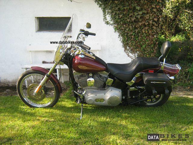 2002 Harley Davidson  Softail Standard FXSTI Motorcycle Chopper/Cruiser photo