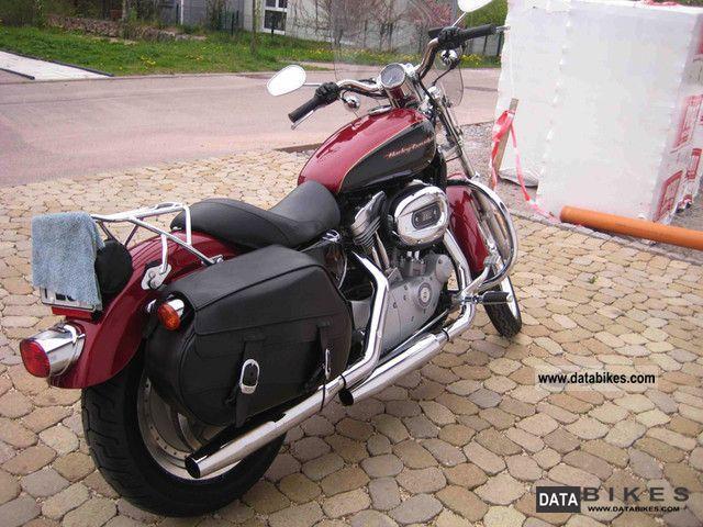 2007 Harley Davidson  Sportster 883 Custom Motorcycle Motorcycle photo