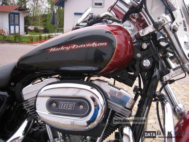 2007 Harley Davidson Sportster 883 Custom