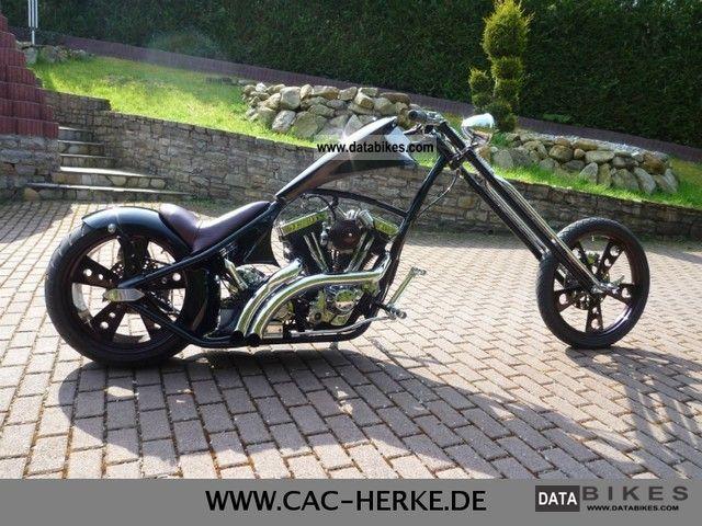 2011 harley davidson custom bike - black hombre