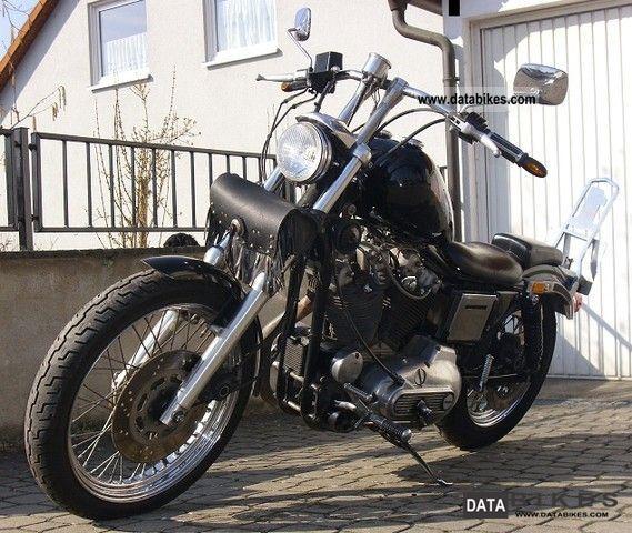 1982 Harley Davidson  XL Sportster Motorcycle Chopper/Cruiser photo