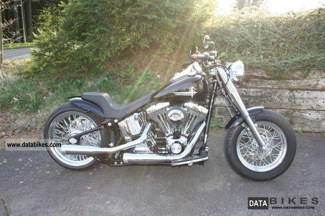 2001 Harley Davidson  FLSTC Heritage Softail \ Motorcycle Chopper/Cruiser photo