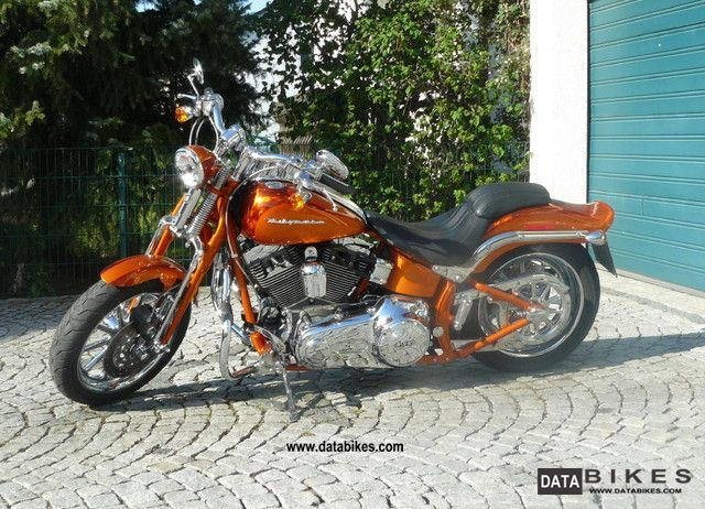 2008 Harley Davidson  Screamin 'Eagle Softail Springer Motorcycle Chopper/Cruiser photo