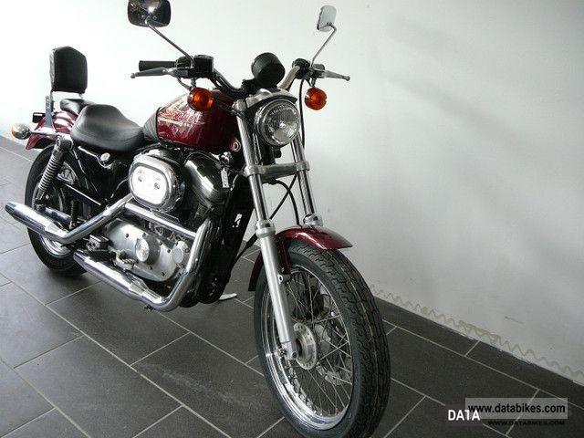 2000 Harley Davidson  XL 883 Sportster Motorcycle Chopper/Cruiser photo