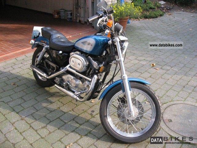 1994 Harley Davidson  Sportster 1200 Motorcycle Chopper/Cruiser photo