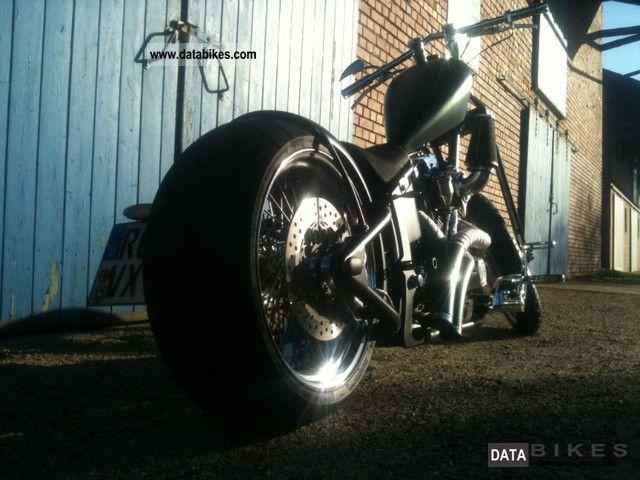 2007 Harley Davidson  Ecker's Santee frame custom chopper Motorcycle Chopper/Cruiser photo