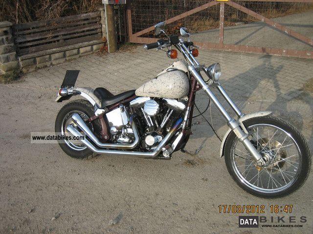 Harley Davidson  Softail Custom Softail EVO 1986 Chopper/Cruiser photo