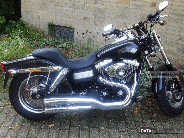 2009 Harley Davidson  fat-bob Motorcycle Chopper/Cruiser photo