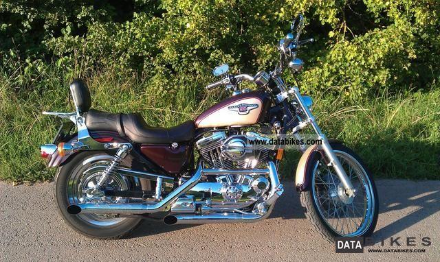 1997 Harley Davidson Xl 1200 C Sportster Custom 95