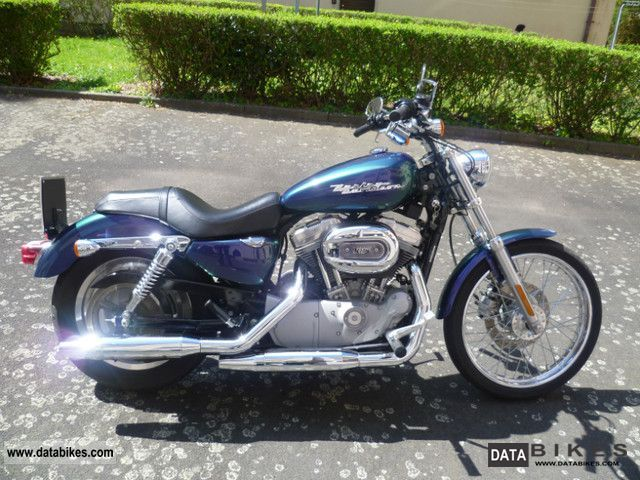 2004 harley davidson sportster 883 custom xl 2 2004 special paint. Black Bedroom Furniture Sets. Home Design Ideas