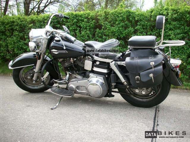 Harley Davidson  FLH 1976 Vintage, Classic and Old Bikes photo