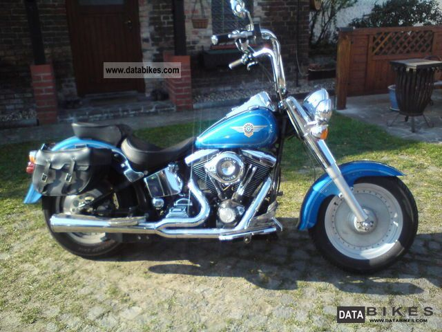 1996 Harley Davidson  FATBOY FLSTF Motorcycle Chopper/Cruiser photo