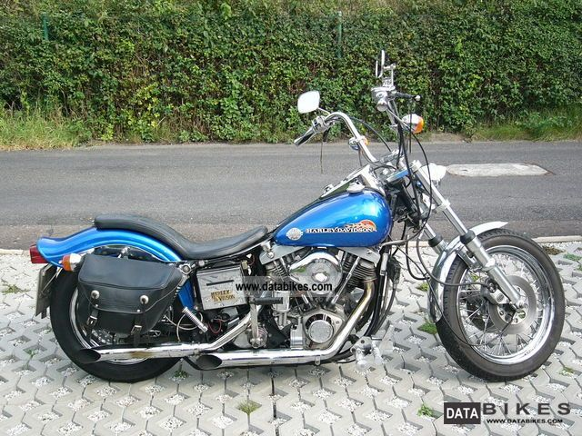 1977 Harley Davidson  Low Rider Schovelhead Motorcycle Chopper/Cruiser photo