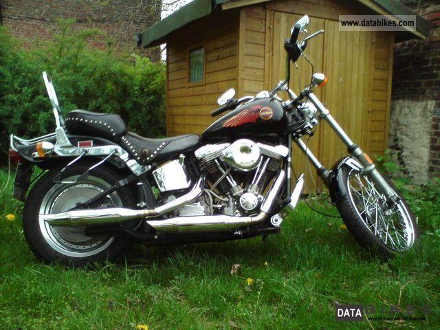 1989 Harley Davidson Softail Custom FXST Motorcycle Photo