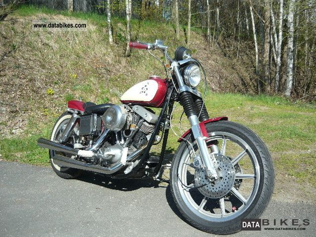 1974 Harley Davidson  FXE Motorcycle Chopper/Cruiser photo