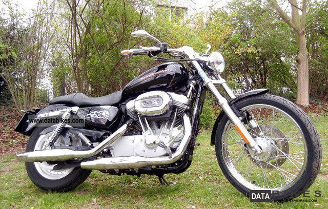 2007 Harley Davidson  Sportster 883 Motorcycle Chopper/Cruiser photo