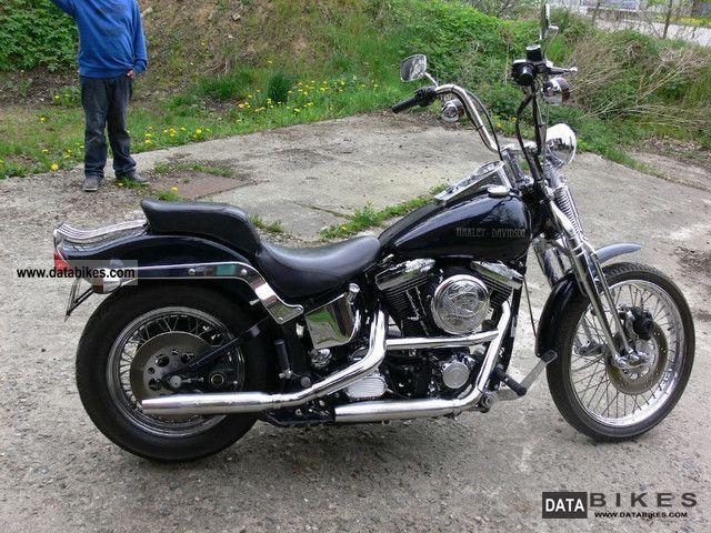 1991 Harley Davidson  Springer Softail 1991 Motorcycle Chopper/Cruiser photo