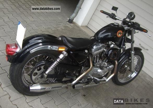 1993 Harley Davidson  xl Motorcycle Streetfighter photo