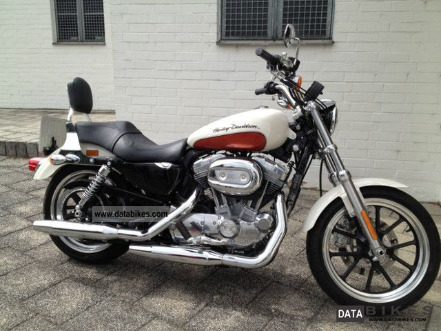 2010 Harley Davidson  Sportster 883 XL Super Low Motorcycle Chopper/Cruiser photo