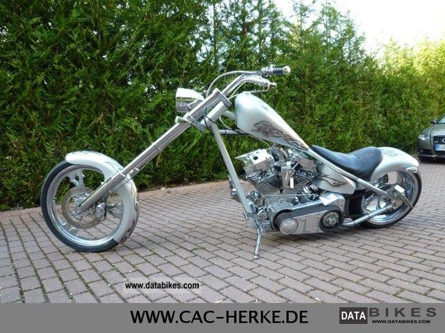2012 Harley Davidson POWER CHOPPER - 124CI ENGINE TP