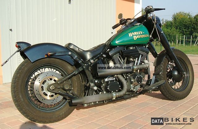 1998 Harley Davidson  HERITAGE SOFTAIL 1340 EVO styles \ Motorcycle Motorcycle photo
