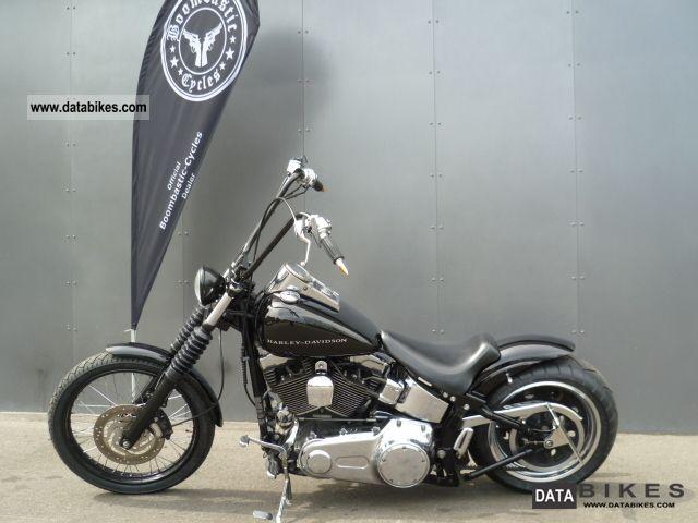 2007 Harley Davidson  Custom Softail Bobber Conversion Motorcycle Chopper/Cruiser photo