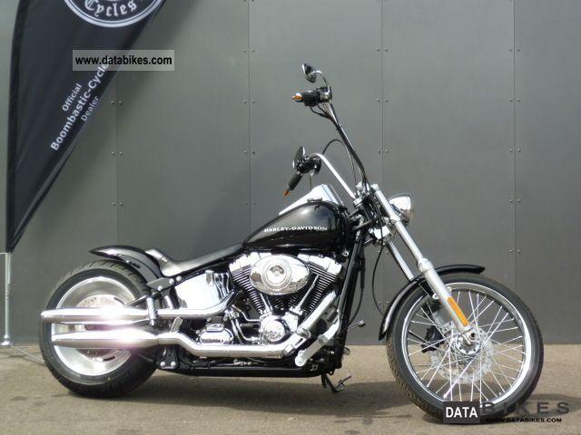 2009 Harley Davidson  Custom Softail Bobber Conversion Motorcycle Chopper/Cruiser photo