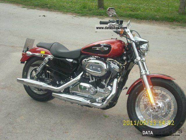 2011 Harley Davidson  XL 1200 C Motorcycle Chopper/Cruiser photo
