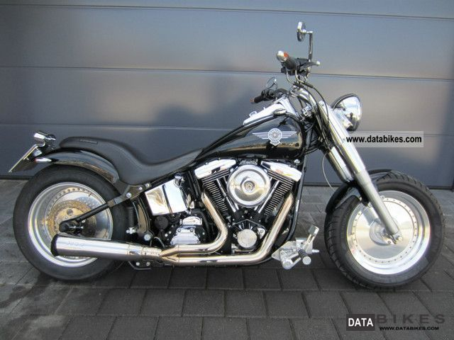Harley Davidson  Fat Boy Softail FatBoy Verstellb.Kess-tech exhaust 1998 Chopper/Cruiser photo