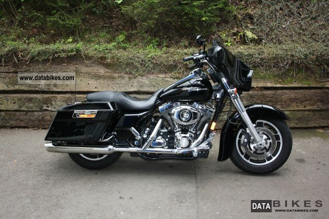 2008 Harley Davidson  FLHX Street Glide Motorcycle Chopper/Cruiser photo