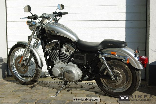 2003 Harley Davidson  Sportster 100 model year as new 2003s Motorcycle Chopper/Cruiser photo