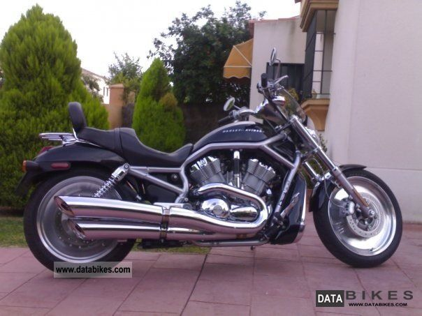 2005 Harley Davidson  Harley-Davidson VRSC V-ROD Motorcycle Chopper/Cruiser photo