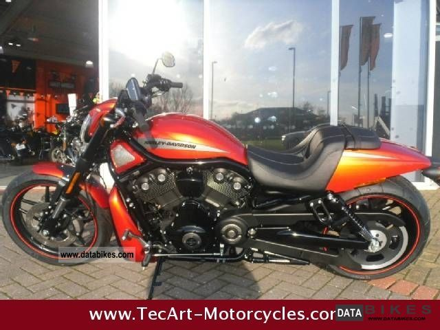 Harley Davidson  NIGHT ROD SPECIAL sedonaorange 2012er-NEW 2012 Chopper/Cruiser photo