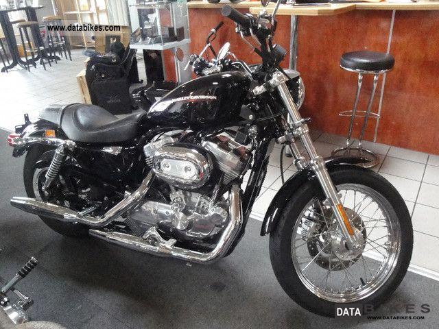 2005 Harley Davidson  Vivid Black Sportster 883 Motorcycle Chopper/Cruiser photo