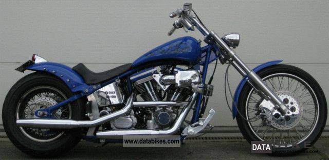 2003 Harley Davidson  Softail Custom SCS conversion S + S 230 mm evo Motorcycle Chopper/Cruiser photo