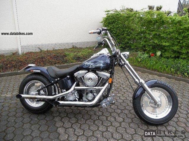 1999 Harley Davidson  Fatboy Motorcycle Chopper/Cruiser photo