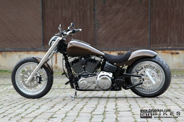 2010 Harley Davidson  Softail Rocker C 300 tires he FXCWC Motorcycle Chopper/Cruiser photo