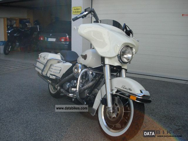 Harley Davidson  Electra Glide Police excavator S + S engine 1573ccm 1988 Chopper/Cruiser photo