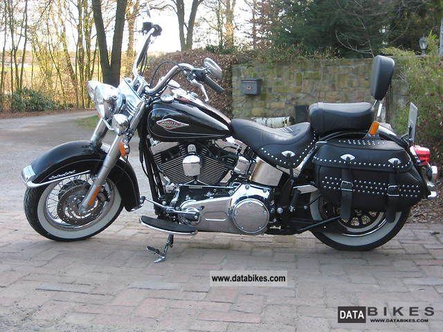 2010 Harley Davidson  FLSTC Heritage Motorcycle Chopper/Cruiser photo