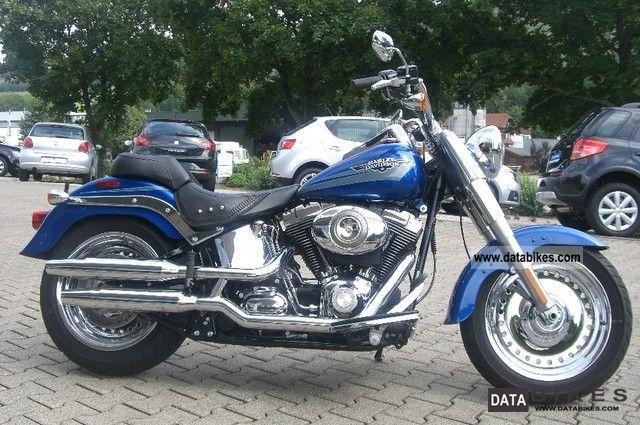 2008 Harley Davidson  Softail Fat Boy FLSTF fair-weather vehicle Motorcycle Chopper/Cruiser photo