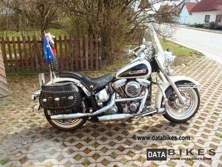 2002 Harley Davidson  Heritage Motorcycle Chopper/Cruiser photo
