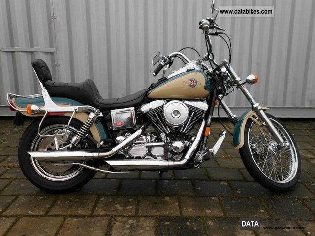 1998 Harley Davidson  Dyna Wide Glide Motorcycle Chopper/Cruiser photo