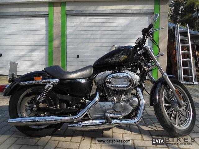 2004 Harley Davidson  Sportster 883 Motorcycle Chopper/Cruiser photo