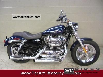 Harley Davidson  2012er SPORTSTER 1200 C - 1200 km - LIKE NEW 2012 Chopper/Cruiser photo