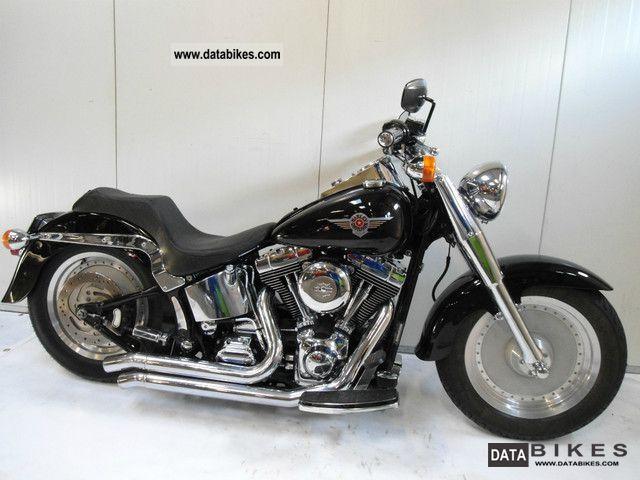 2000 Harley Davidson  FLSTF FATBOY Motorcycle Chopper/Cruiser photo