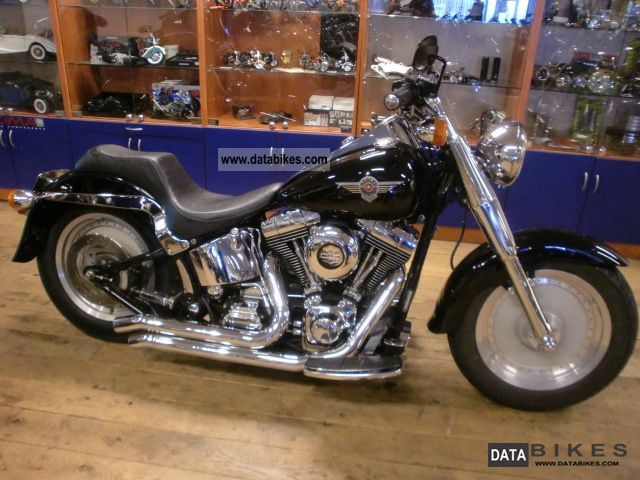 2000 Harley Davidson Flstf Fatboy Motorcycle Chopper Cruiser Photo 4