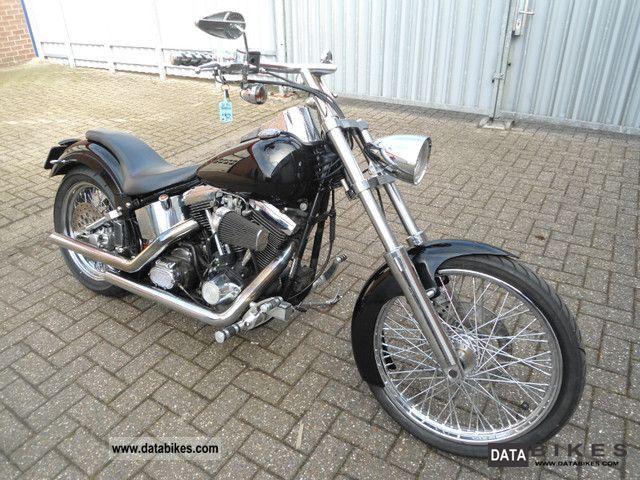 1995 Harley Davidson  FLSTF FATBOY Motorcycle Chopper/Cruiser photo
