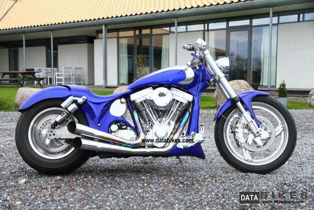 2002 Harley Davidson  Custom FLH Evo engine Motorcycle Chopper/Cruiser photo