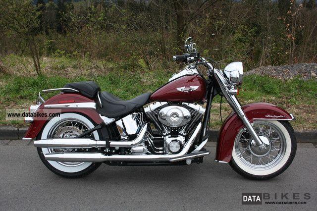 2006 Harley Davidson  FLSTN Softail Deluxe Motorcycle Chopper/Cruiser photo