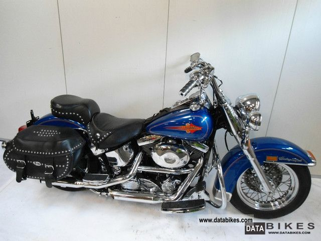 1998 Harley Davidson  FLSTC HERITAGE SOFTAIL CLASSIC Motorcycle Chopper/Cruiser photo